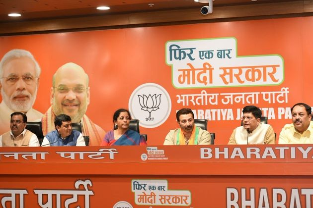 BJP Fields Sunny Deol From Punjab's