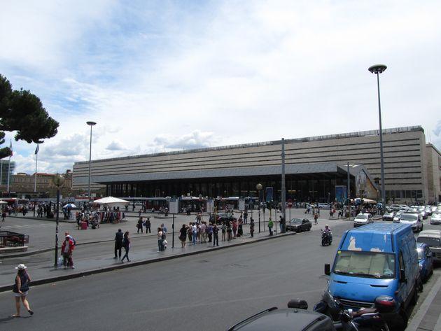 Les faits se sont déroulés à proximité de la gare Termini, à