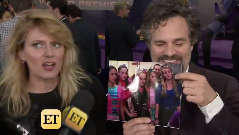 Mark Ruffalo Had The Cutest Reaction To Learning Brie Larson Was In '13 Going On 30'
