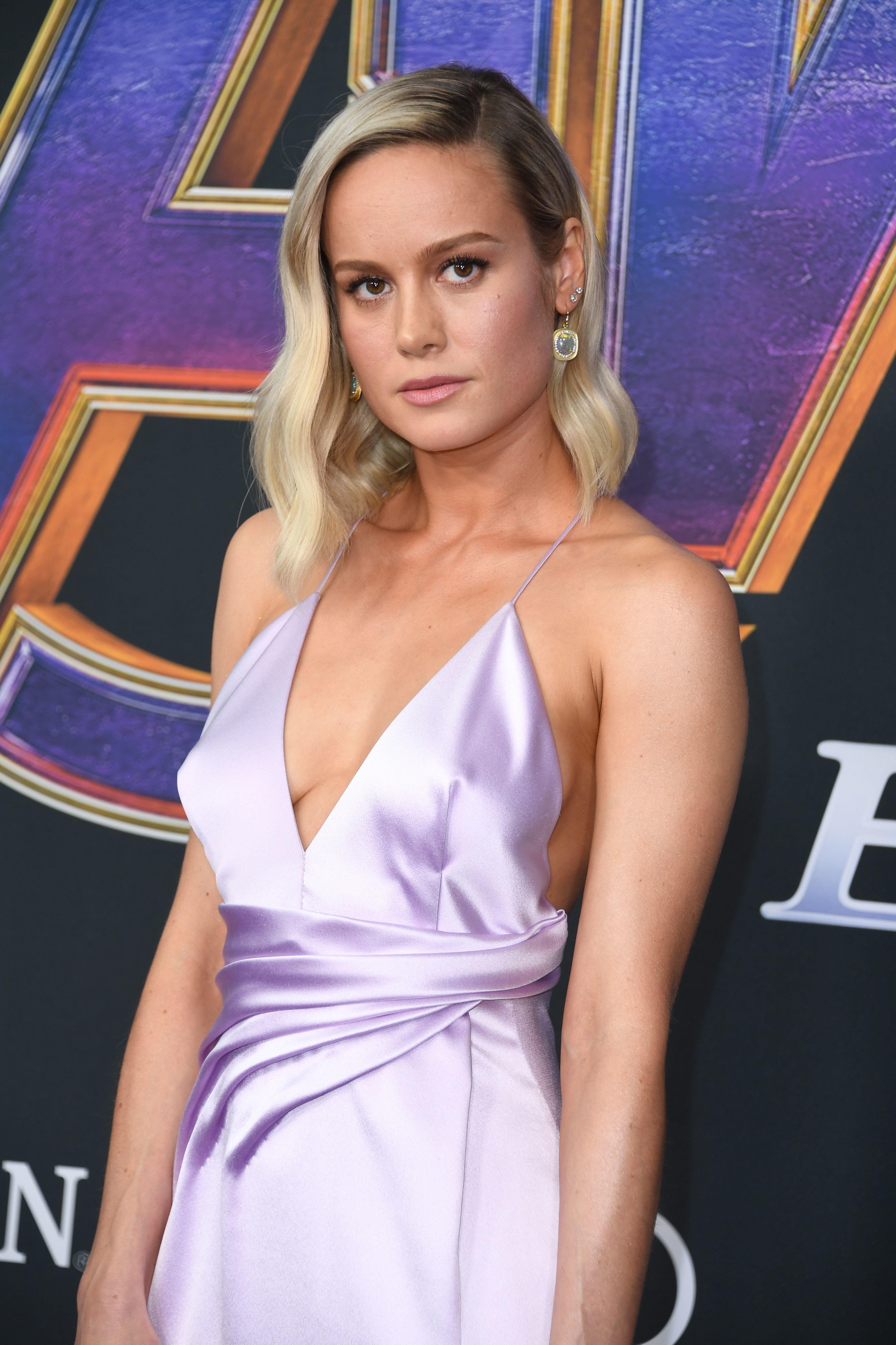 Brie Larson's 'Avengers: Endgame' Premiere ...