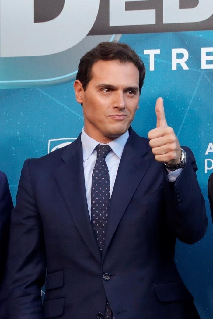 La llegada de Albert Rivera al debate de Atresmedia provoca una inevitable