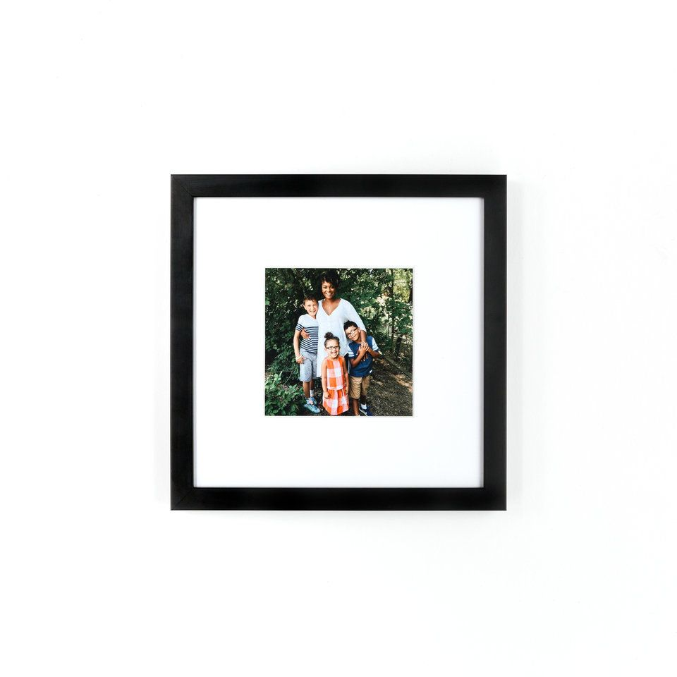 A custom framed photo from Framebridge