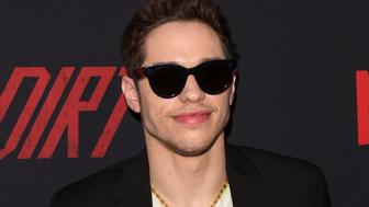 HOLLYWOOD, CALIFORNIA - MARCH 18: Actor Pete Davidson attends the Premiere Of Netflix's 'The Dirt' at ArcLight Hollywood on March 18, 2019 in Hollywood, California. (Photo by Paul Archuleta/FilmMagic)