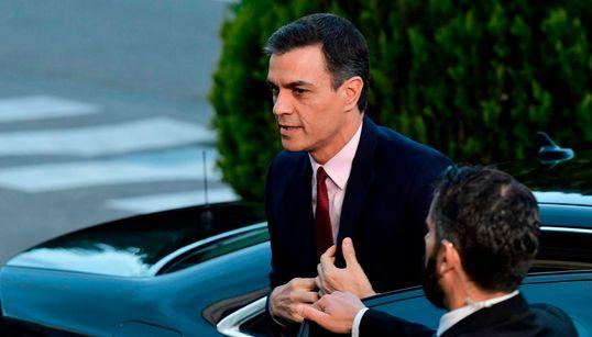 """Pedro Sánchez: """"No entra en mis planes pactar con quien nos pone un cordón"""