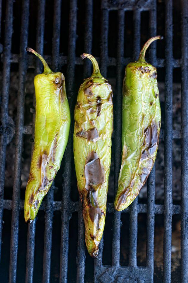Pimenta verde é um dos temperos mais comuns em