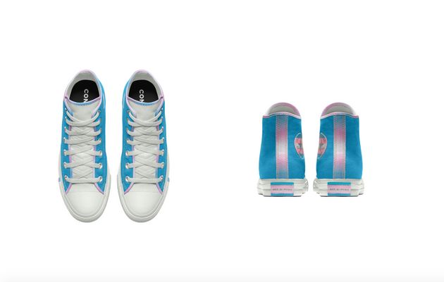 Esta é a primeira vez que um tênis da Converse leva as cores da bandeira do orgulho