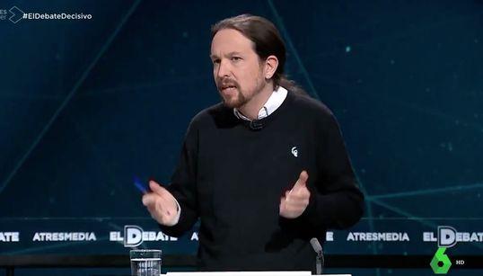 """Aplauso unánime para esta frase de Iglesias sobre el """"lamentable espectáculo"""" de Sánchez y"""