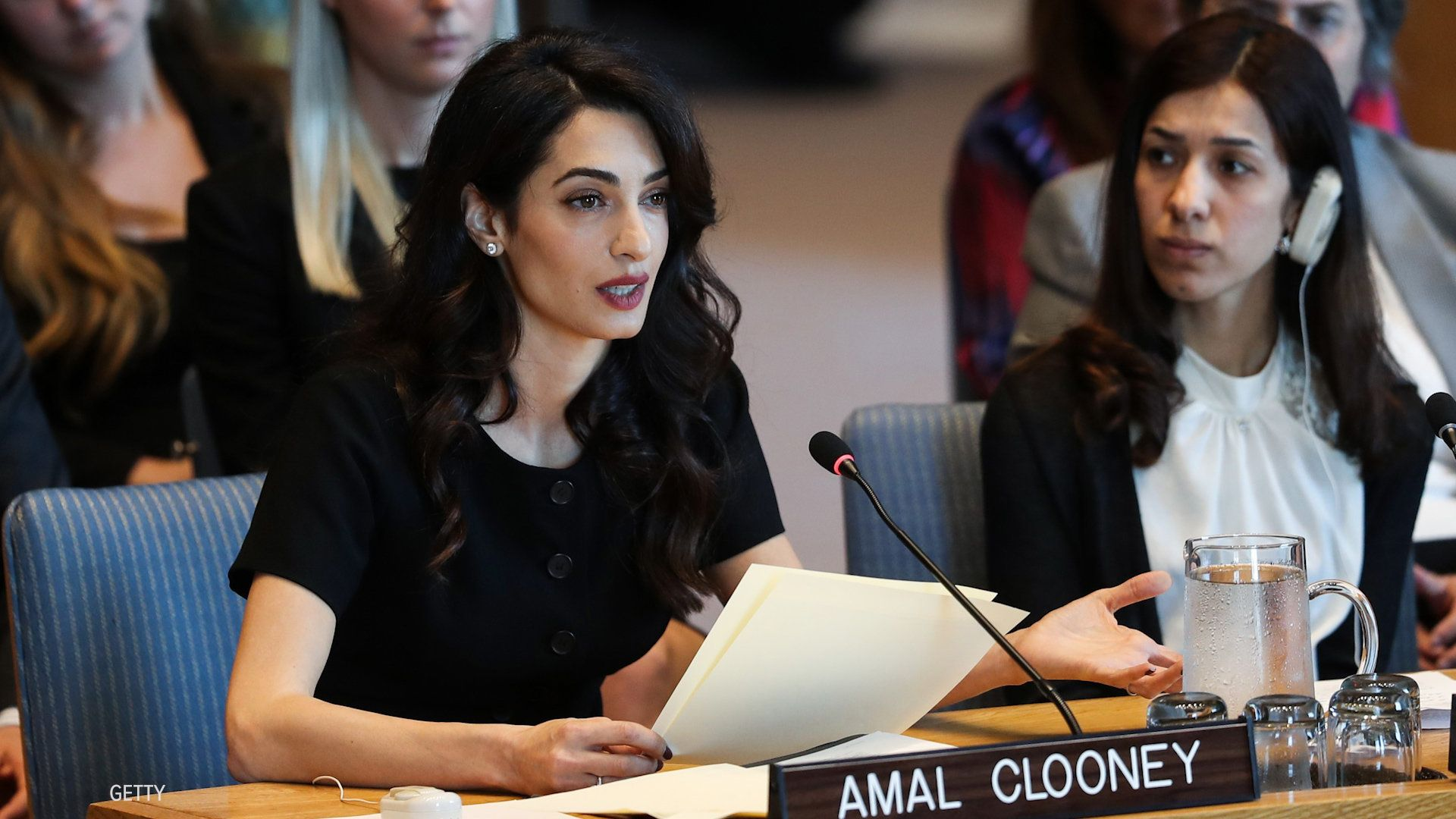 Human Rights Lawyer Amal Clooney Fights For ISIS Sexual Violence Survivors