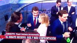 Dani Rovira se da cuenta de un detalle de Rivera tras el debate: