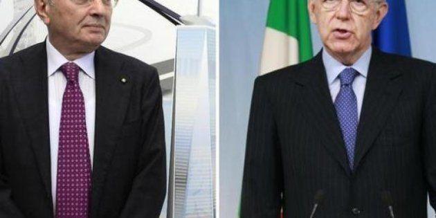 Monti e Squinzi, pace dopo le accuse