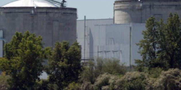Francia, incidente con feritinella centrale nucleare