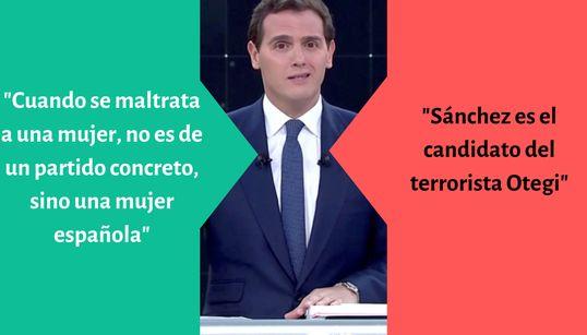 """Del """"yo soy hijo de una madre"""" al """"Sánchez es el candidato del terrorista Otegi"""": las mejores y peores frases del"""