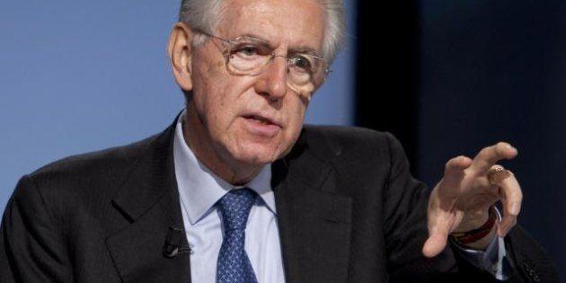 Agenda Monti: lista unica al Senato, alla Camera