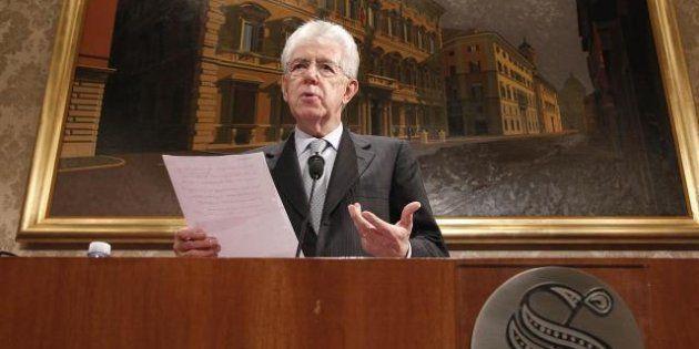 Mario Monti si candida a capo del Terzo Polo. Lista unica al Senato, federazione di liste alla Camera....