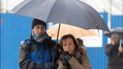 Il ministro Elsa Fornero in vacanza a Courmayeur