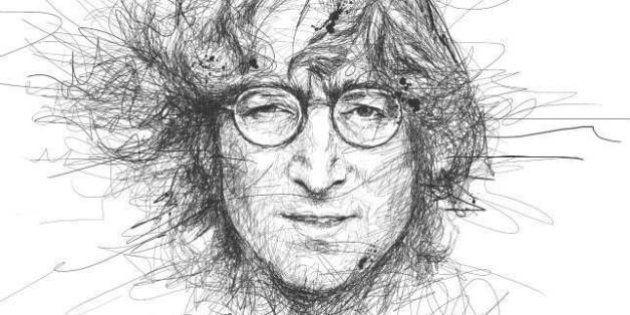 Disegni a matita: i ritratti di Madonna, Morgan Freeman, John Lennon e tante altre star