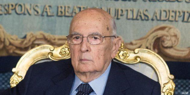 Giorgio Napolitano difende il governo Letta: