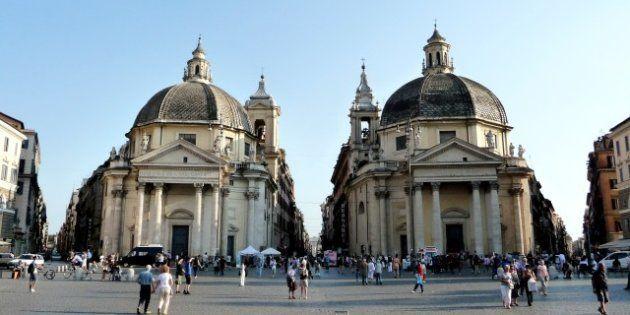 Le 8 piazze più belle di Roma, la stampa estera dà il primo posto per Piazza del Popolo