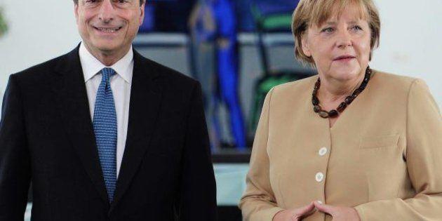 Mario Draghi a Berlino: incontrerà la Merkel e incasserà il sì degli