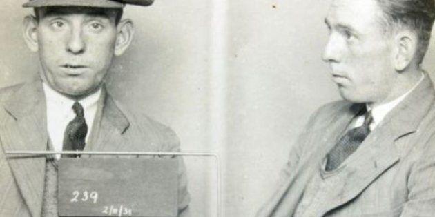 Le foto segnaletiche vintage degli anni '30 negli archivi della