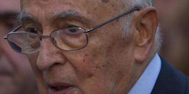 Napolitano lancia l'allarme sulla corruzione: