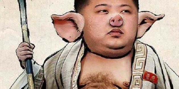 Corea del Nord: #prayforworld è trending topic su Twitter, Anonymous diffonde ritratto di Kim Jong-un...