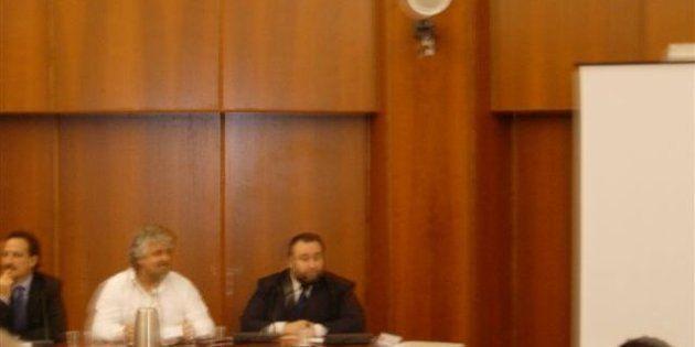 Grillo e Fiorito, sole e luna, ma insieme nel 2007 contro l'inceneritore di Anagni: la