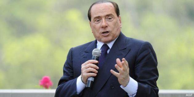 Silvio Berlusconi: ad Arcore manifestazione a suo favore