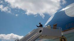 Obama, atterraggio difficile e paura sull'Air Force One