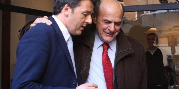 Pd: pranzo fra Matteo Renzi e Pier Luigi Bersani: