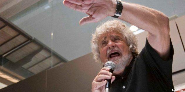 Blog Beppe Grillo: il leader chiama in causa Giorgio Napolitano: