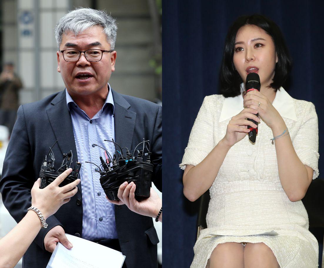 윤지오가 박훈 변호사의 '출국금지 요구'에 대해 밝힌