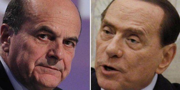 Quirinale, Silvio Berlusconi fa la colomba e offre a Bersani un patto anti-Renzi: