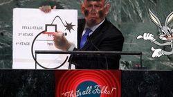 La bomba di Netanyahu spopola sul web