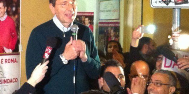 Primarie Roma, vince Ignazio Marino. Oltre centomila al voto. E lancia un appello agli sconfitti: