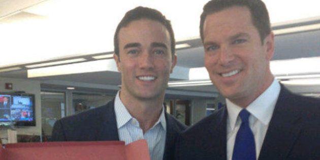 Thomas Roberts e Patrick Abner, le nozze gay dell'anchorman: il grande giorno raccontato su Twitter