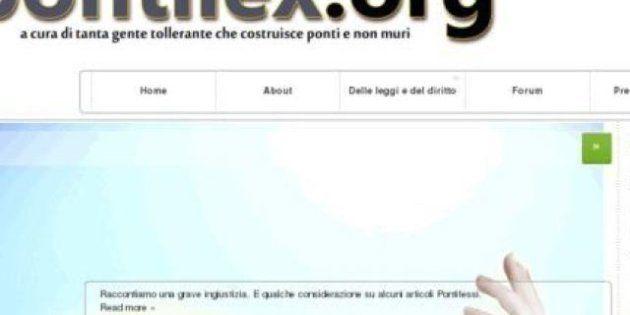 Oscurato Pontilex.org, il sito che contestava gli ultracattolici omofobi e razzisti di Pontifex.Roma