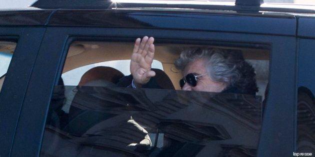Incontro Beppe Grillo - Giorgio Napolitano: in agenda il ruolo del Parlamento. In forse Gianroberto