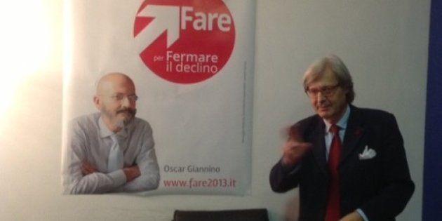 Elezioni 2013, Vittorio Sgarbi tenta Oscar Giannino per il centrodestra. Berlusconi alle prese con i...