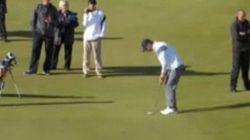 Michael Phelps si dà al golf: mette a segno