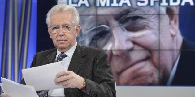 Elezioni 2013, Mario Monti rassicura Pier Luigi Bersani sull'antiberlusconismo ma rilancia la sfida sui