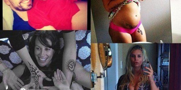 Star incinte: la moda delle foto col pancione su twitter e facebook. Da Shakira a Jessica Simpson, passando...