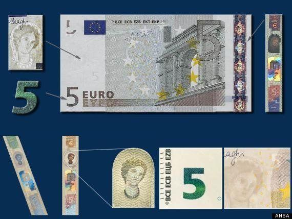 La nuova banconota da 5 euro: la moneta si rinnova dopo 11 anni
