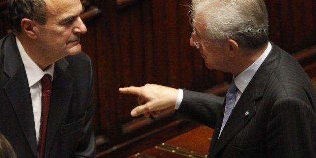 Elezioni 2013, nuovo avvertimento di Bersani a Monti: Non ci si candida per giocare sul Senato ma per...