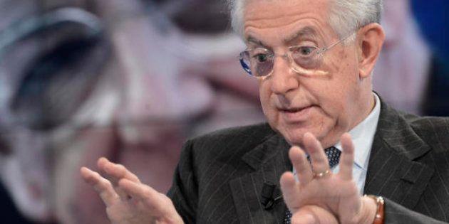 Par condicio, richiamo Agcom: squilibri tra le forze politiche nei tg, Mario Monti troppo in