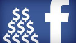 Messaggi Facebook ai vips d'ora in poi costano