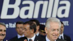 Monti inaugura Barilla. Pizzarotti: