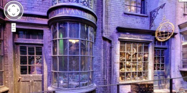 Google Street View sulle orme di Harry Potter