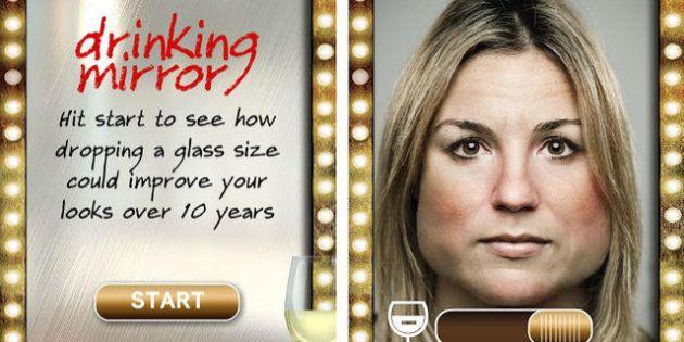 Drinking Mirror: l'app contro l'acolismo.