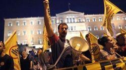 Atene blindata riceve Merkel